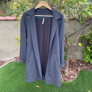 Willow & Clay Ribbed Duster Jacket